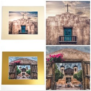 New Mexico Adobe Church Prints Matted Photographs